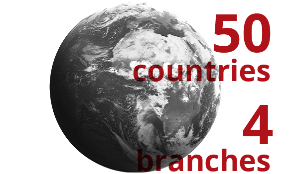 ambro sol 50 countries 4 branches